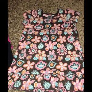 4t floral dress
